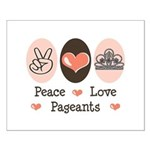 Peace Love Pageant Small Poster