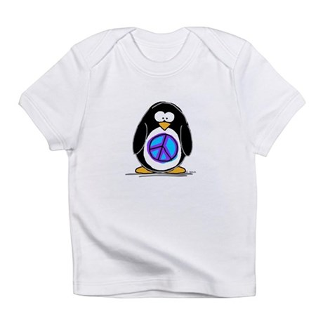 Peace penguin Infant T-Shirt