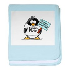 Pluto Penguin baby blanket