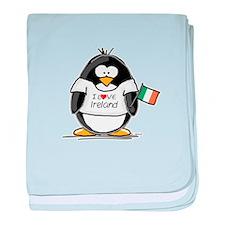 Ireland Penguin baby blanket