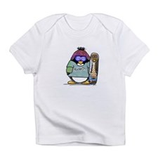 SnowBoard Penguin Infant T-Shirt