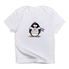 West Virginia Penguin Infant T-Shirt