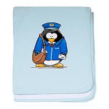 Cool Postal baby blanket