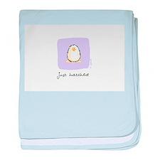 just hatched Penguin baby blanket