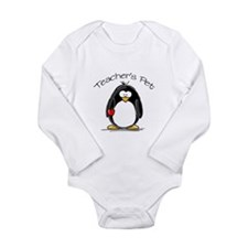 Teachers Pet Penguin Long Sleeve Infant Bodysuit