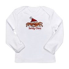 Sandy Claus Long Sleeve Infant T-Shirt