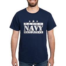 Proud Navy Dad T-Shirt