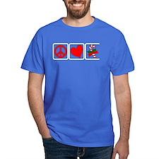 PEACE-LOVE-CANDYCANE T-Shirt