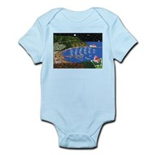 Cute Catalina island Infant Bodysuit