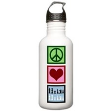 Peace Love Chess Water Bottle