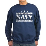 Proud Navy Brother In Law Sweatshirt
