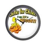 Chicks for Chicks Wall Clock