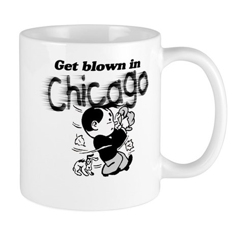 Blown in Chicago Mug