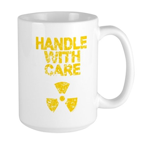 Handle With Care Large Mug