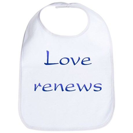 Love Renews Baby Bib