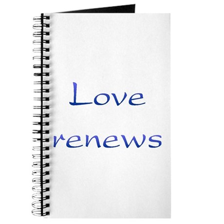 Love Renews Journal