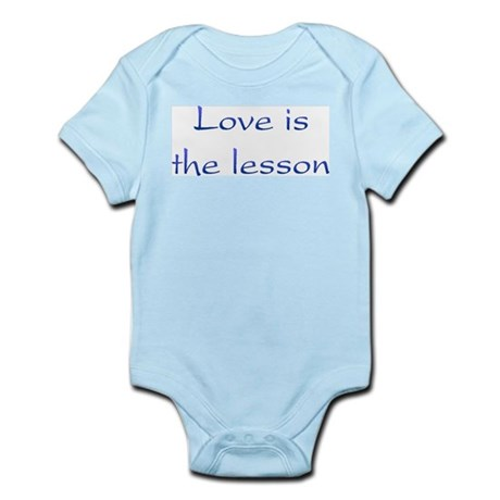 Love Is The Lesson Infant Bodysuit