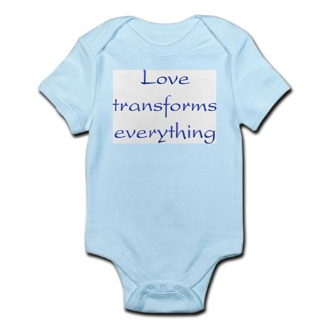 Love Transforms Infant Bodysuit