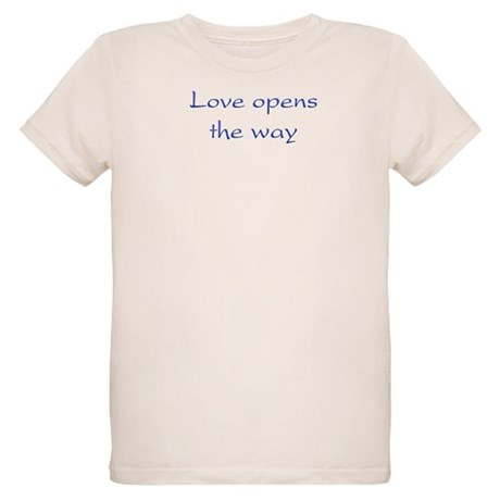 Love Opens The Way Organic Kids T-Shirt
