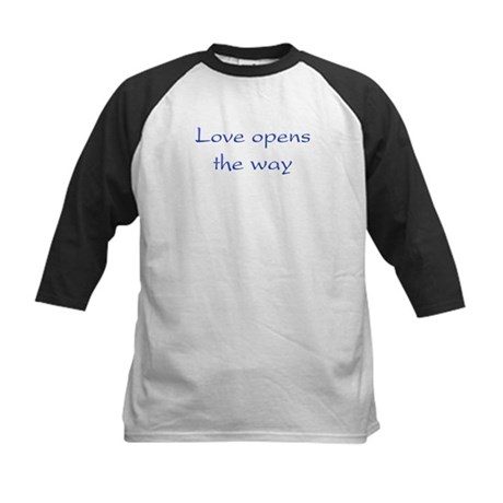 Love Opens The Way Kids Baseball Jersey