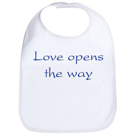 Love Opens The Way Baby Bib