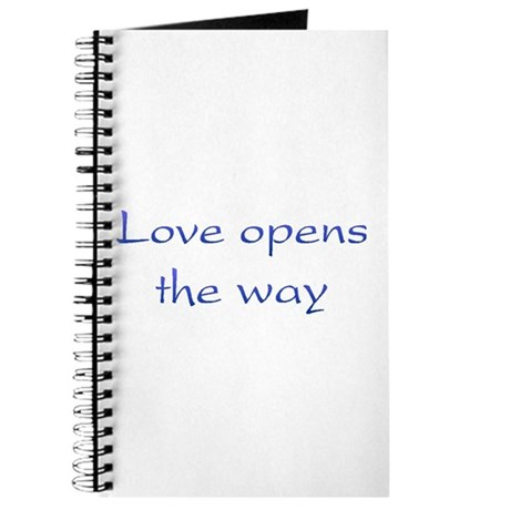 Love Opens The Way Journal