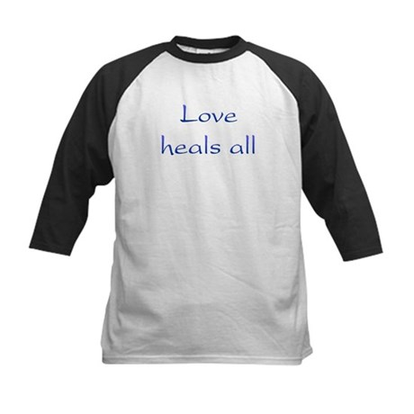 Love Heals All Kids Baseball Jersey