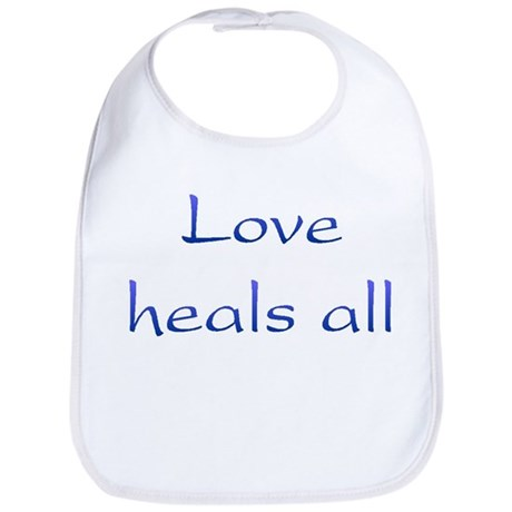 Love Heals All Baby Bib
