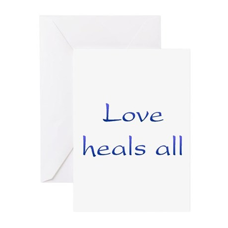 Love Heals All Greeting Cards ~ Package of 10