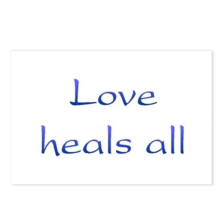 Love Heals All Postcards ~ Package of 8