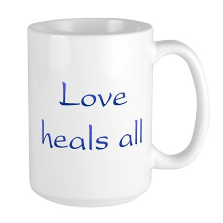 Love Heals All Large Coffee Mug