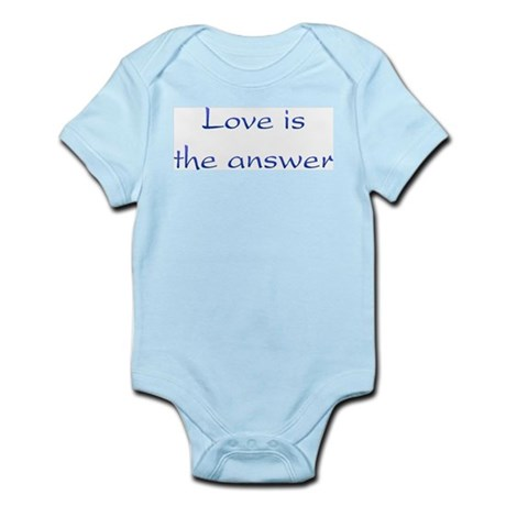 Love Is The Answer Infant Bodysuit