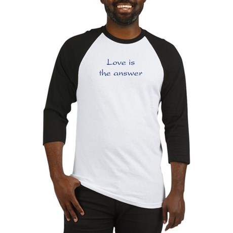 Love Is The Answer Men's Baseball Jersey