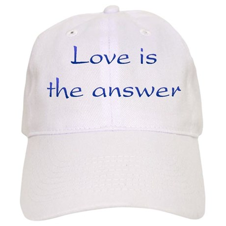 Love Is The Answer Baseball Cap