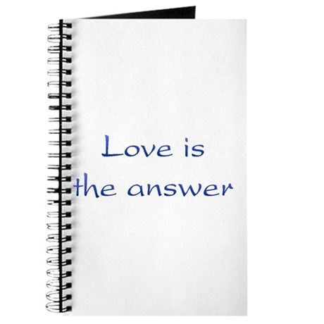 Love Is The Answer Journal