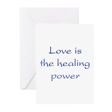 Healing Power Greeting Cards ~ Package of 10