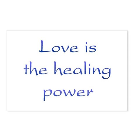 Healing Power Postcards ~ Package of 8