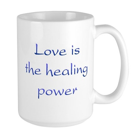 Healing Power Large Coffee Mug