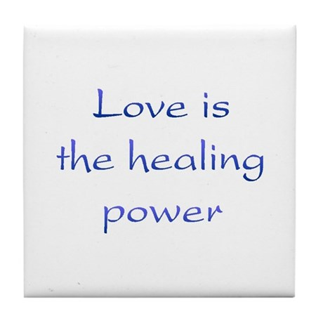 Healing Power Tile Coaster