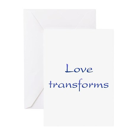 Love Transforms Greeting Cards ~ Package of 10