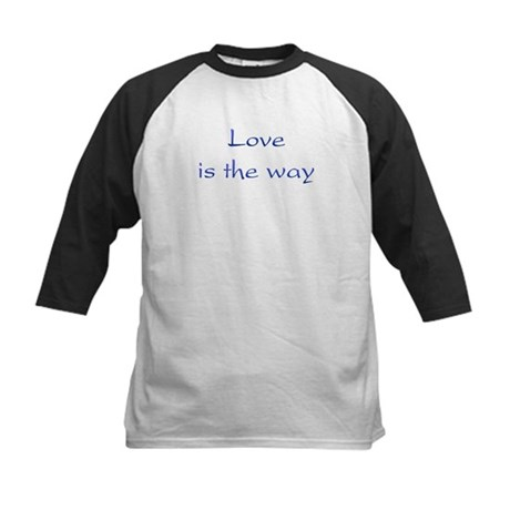 Love Is The Way Kids Baseball Jersey