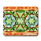 Festive Sacred Geometry Mousepad