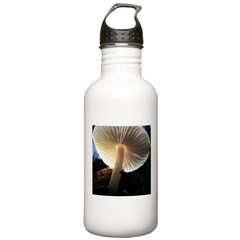 Mushroom Gills Backlit Water Bottle