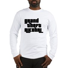 Funny Theft Long Sleeve T-Shirt
