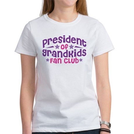 PRESIDENT GRANDKIDS FAN CLUB Women's T-Shirt