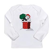 Cute Chimney Long Sleeve Infant T-Shirt