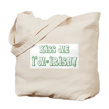 Kiss Me I'm Irish! Tote Bag