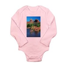 Cathedral Rock, Sedona Long Sleeve Infant Bodysuit