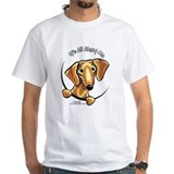 Red Dachshund IAAM Shirt