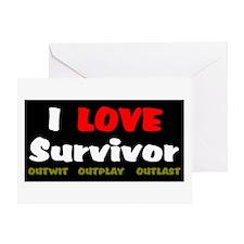 Survivor fan Greeting Card